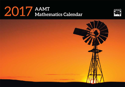 Cover of the AAMT Mathematics Calendar 2017